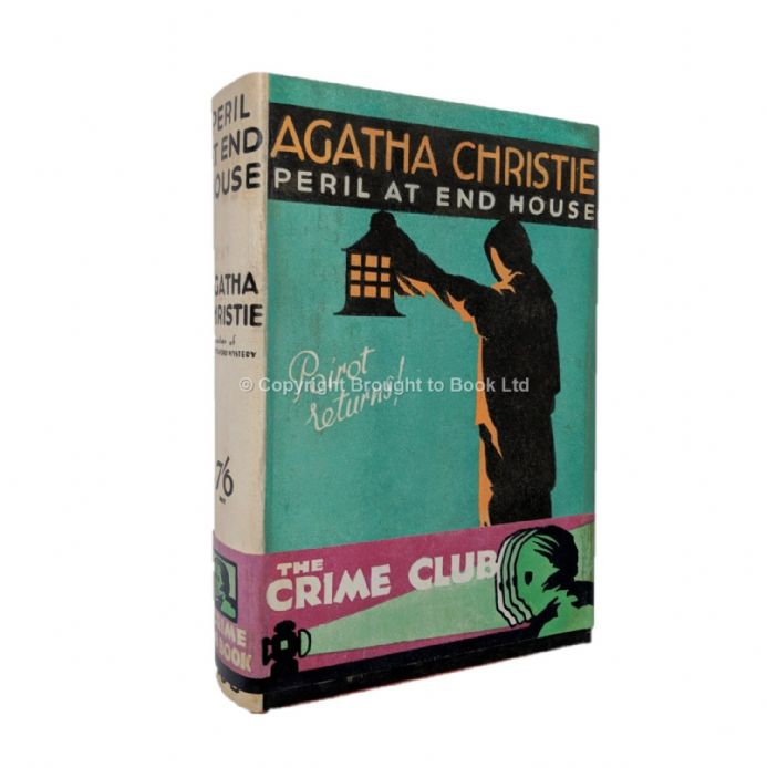 Peril at End House by Agatha Christie First Edition Published by Collins, The Crime Club 1932